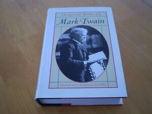 ESSAYS AND SKETCHES OF MARK TWAIN HARDCOVER BOOK