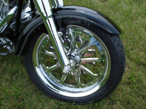 FITS HARLEY FATBOY FAT BOY DELUXE SOFTAIL FRONT FENDER PARTS 1986 UP