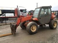 MANITOU MT728-4 TELESCOPIC FORKLIFT C/W FORKS