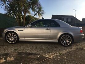 Rare E46 Bmw convertible manual (low mileage)