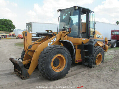 2014 Case 621f Front End Wheel Loader Hydraulic Qc Scale Cab Ac - Partsrepair