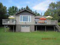 MILLER LAKE WATERFRONT COTTAGE/HOME - New Price!