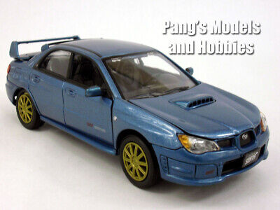 2006 Subaru Impreza WRX 1/24 Scale Diecast Metal Model - BLUE