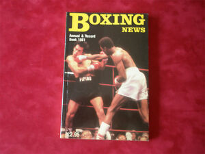 Boxing News Annuals from 1953-1985, your choice