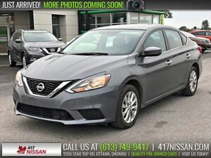 2018 Nissan Sentra 1.8 SV | Moonroof, Htd Seats, Rear Camera