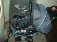 Used but in good condition stroller