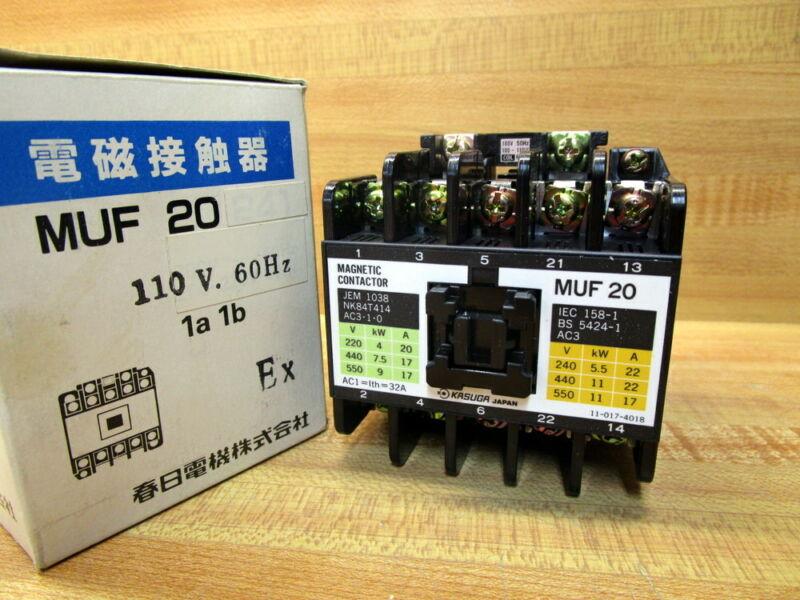 Kasuga MUF 20 Magnetic Contactor MUF20