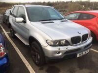 *** BMW X5 3.0d 2004 spaires or repairs swap px car van ****