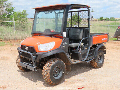 2014 Kubota RTV-X900 4WD Diesel Utility Cart Vehicle UTV Manual Dump Bed bidadoo