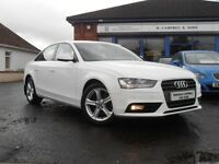 2012 Audi A4 2.0 TDI Technic 141 BHP 4 Door Saloon In White FACE LIFT