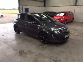 2014 Vauxhall corsa ltd edition 1.2cc 1 owner fsh pristine full mot guaranteed cheapest in country