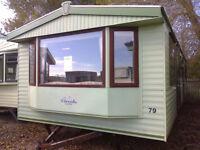 Static Caravan 35 x 12 ft 3 bedrooms ,double glazing and electric heating, Atlas Florida