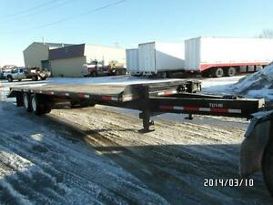 1998 NORBERT PINTAL HITCH TR WITH 24' DECK AT www.knullent.com Edmonton Area image 1