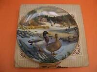 """THE MALLARD"" COLLECTOR PLATE BY BART JENNER"