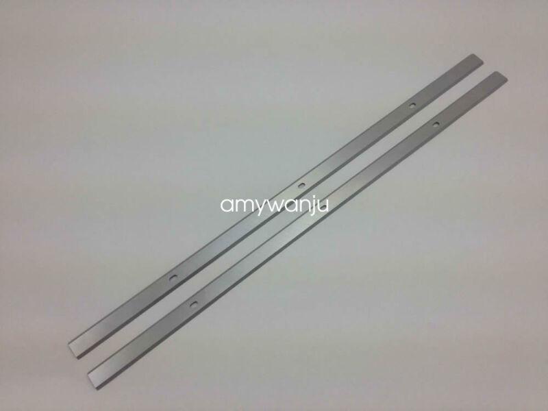 """WEN 12-1/2"""" inch Planer Blades Knives for WEN 6550 12.5in PLANER Set of 2"""