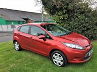 FORD FIESTA 1.2 Edge, MOT June 2018, Recent Service, Excellent all round (red) 2010