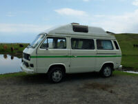 VW T25 Auto Sleeper High Top Campervan 1987
