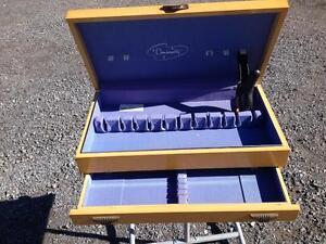 LIGHT COLOUR SILVERWARE BOX  REDUCED Belleville Belleville Area image 1