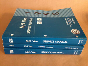 1998-GM-Chevy-GMC-M-L-Van-Factory-OEM-Workshop-Service-Repair-Manuals-Vol-1-3