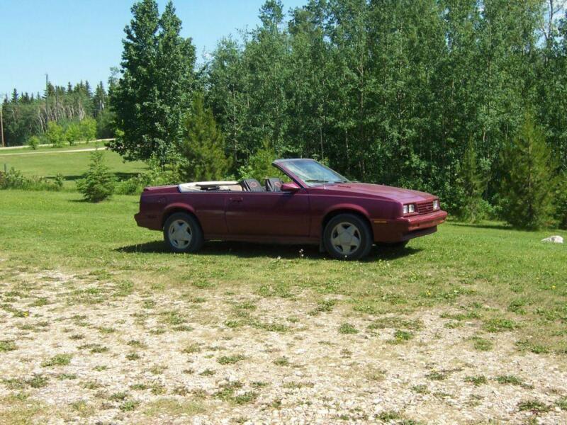 Cars Vehicles In Alberta Kijiji: 1984 Chevrolet Cavalier Convertible