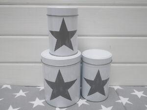Contenitori-alimenti-Stella-in-Formato-verticale-come-Set-Di-3-bianco-con-grigio