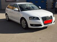 Audi A3 Sportback 1.9 TDI 5 door White CHEAPEST ON NET AND BEST EXAMPLE!!!