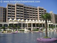 Sunny Beach Bulgaria self-catering apartment on a 5-star complex for holiday rentals, sleeps 4