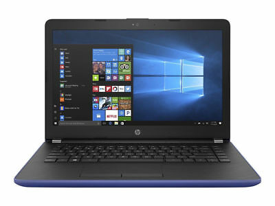 "Laptop Windows - HP 14-BW020NA 14"" Laptop AMD A6 Dual Core 8GB RAM 1TB HDD Windows 10 (Blue) B+"