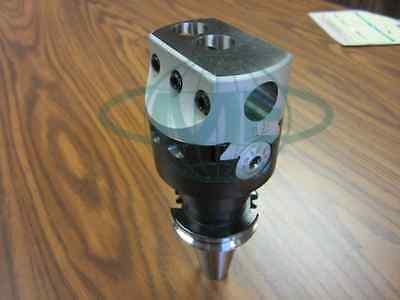 3 Precision Adjustable Boring Head With Cat40 Arbor--new