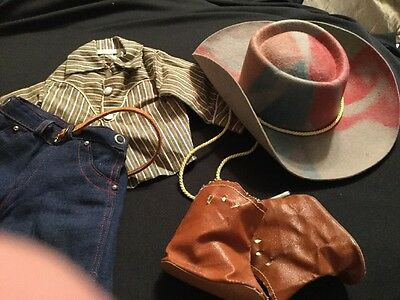 Doll Clothing Terri Jerri Lee Western Outfit Tagged 1950'