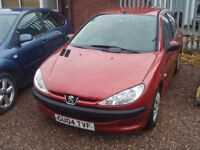PEUGEOT 207 - (red) 2004