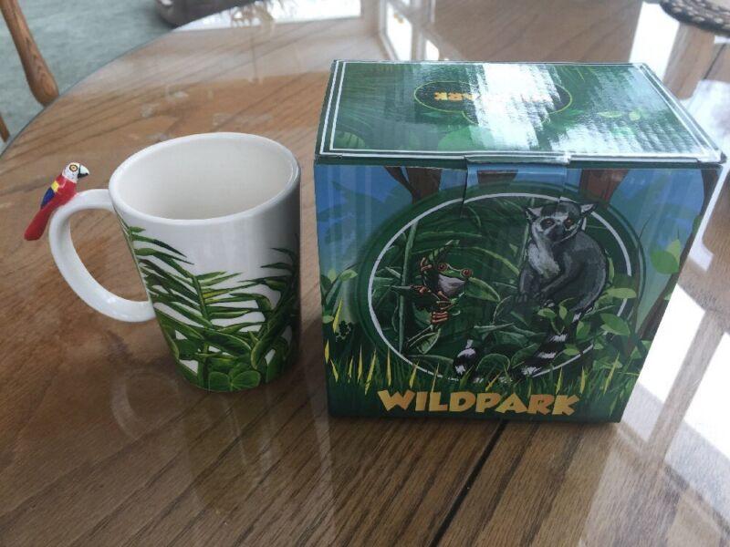 MACAW PARROT MUG - WILDPARK - 8oz NEW IN BOX