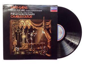 SAINT-SAENS - DANSE MACARBRE - DECCA SXL 6975  CHARLES DUTIO LP Viny Records