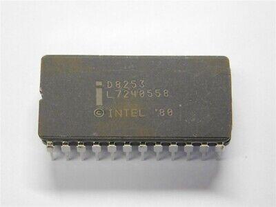 Original Intel D8253 Programmable Interval Timer Ic 24-cerdip