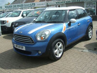 MINI COUNTRYMAN COOPER D ALL4 DIESEL (blue) 2011