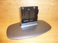 """TV Stand for Sharp LC-32D44E-GY 32"""" LCD Base Pedestal Grey/Black *SCR*"""