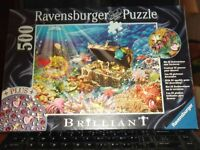 Ravensburger Brilliant Sunken Treasure Puzzle Plus Crystals