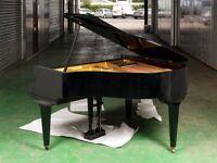 Black Baby Grand Piano Digital Conversion - SELF PLAYING EFFECT