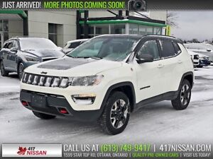 2018 Jeep Compass Trailhawk 4x4 | Navigation, Heated Seats