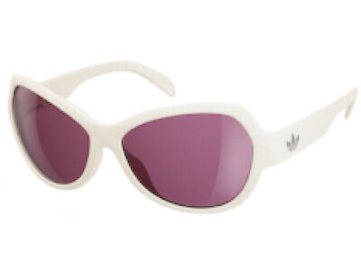 Adidas Womens Ipanema Sunglasses Matte Off White / Purple AH21 6055