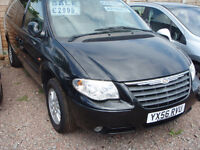 CHRYSLER GRAND VOYAGER LX (black) 2006