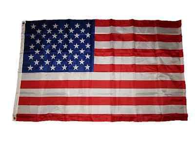 3x5 USA American 50 Star 150D Premium Quality Flag 3'x5' Grommets