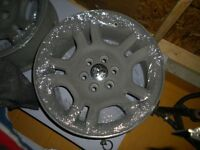"Powder coated 16"" Dodge Dakota rims"