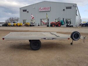 2005 Triton 8612 Flatdeck Snowmobile Trailer