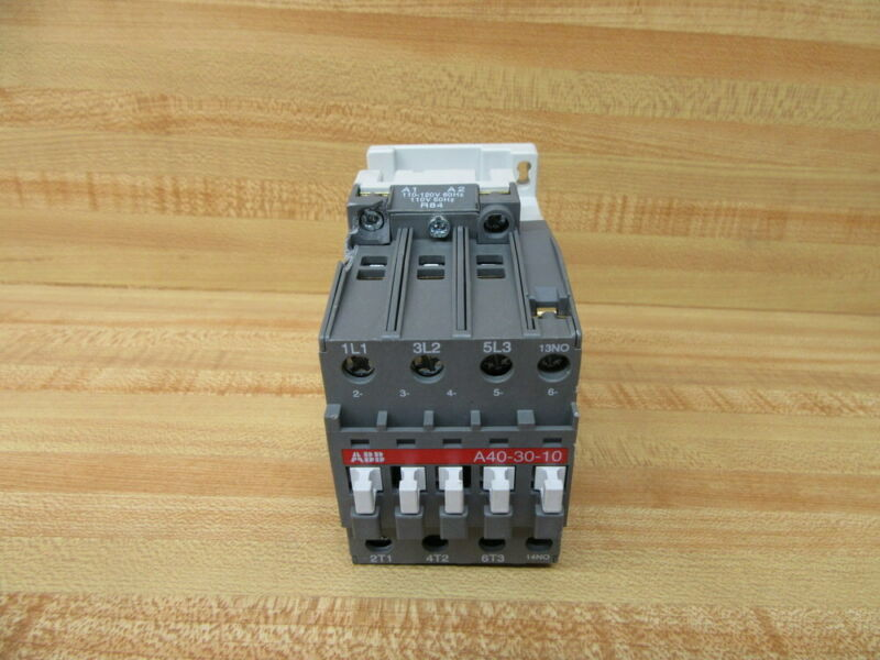 ABB A40-30-10-R84 Contactor A40-30-10 W/ Chipped Housing