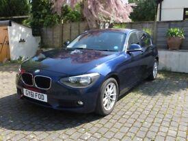 2011/61 BMW 116i 5d petrol SE (Dynamic), front/rear parking sensors/camera, leather seats, 65k