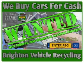 All Scrap Vehicles Collected Peacehaven & Throughout Sussex [Cars, Vans & 4x4s] Cash Waiting