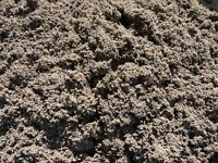Washed concrete sand