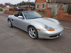Stunning 2001 Porsche Boxster 3.2S Manual, Black Leather, VGC, P/X Welcome