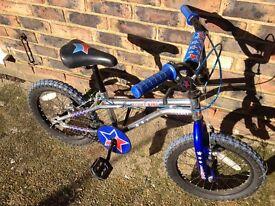 Boys bmx bike age 8-11